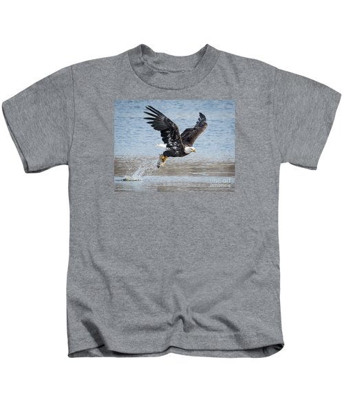 American Bald Eagle Taking Off Kids T-Shirt