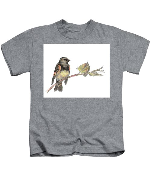 American Redstart Kids T-Shirt