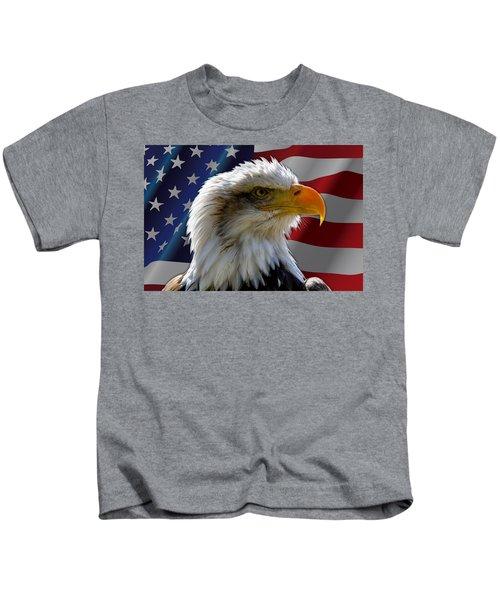 America  Kids T-Shirt
