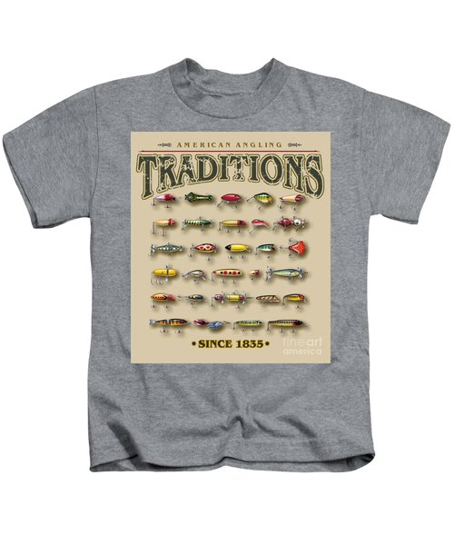 American Traditions Lures Kids T-Shirt