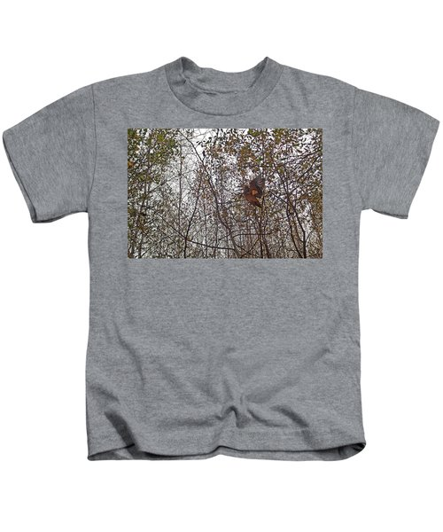 American Woodcock In October Foliage Kids T-Shirt
