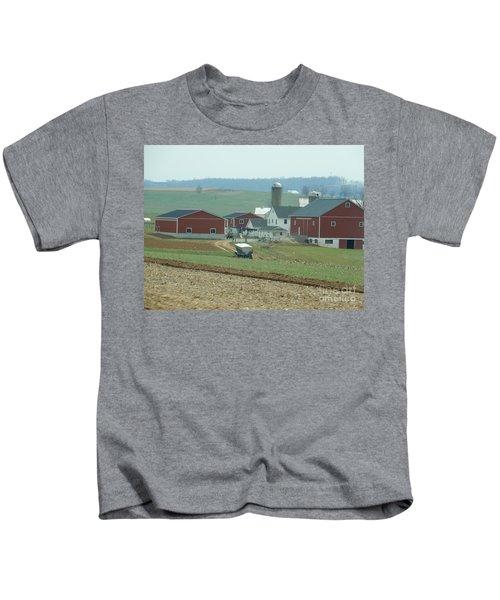 Amish Homestead 6 Kids T-Shirt