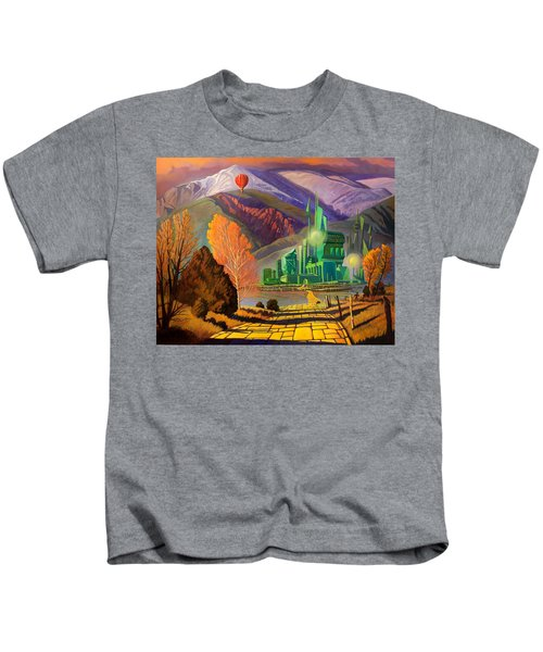 Oz, An American Fairy Tale Kids T-Shirt