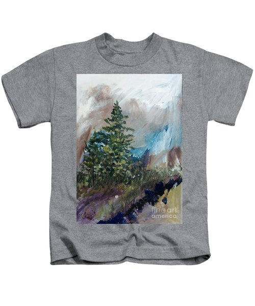 An Yosemite Afternoon Kids T-Shirt