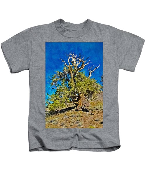 Ancient Bristlecone Pine Kids T-Shirt