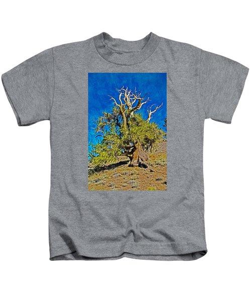 Ancient Bristlecone Pine Kids T-Shirt