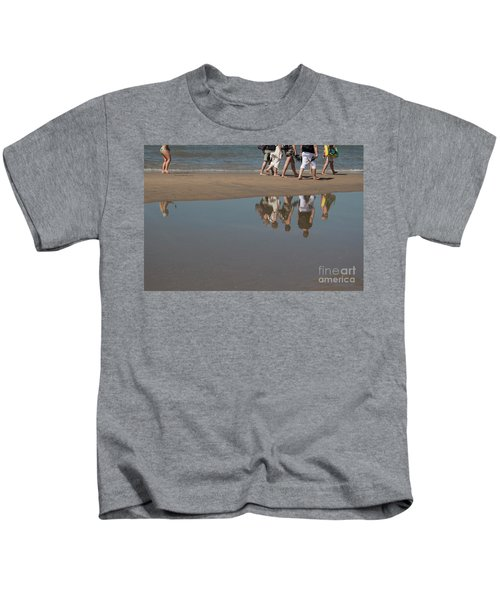 And So They Followed Kids T-Shirt