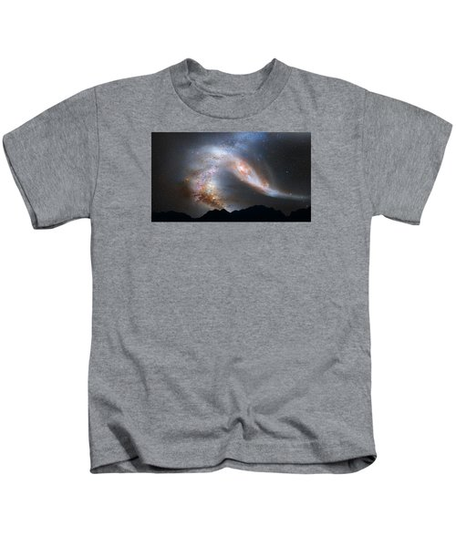Andromeda-galaxy Kids T-Shirt