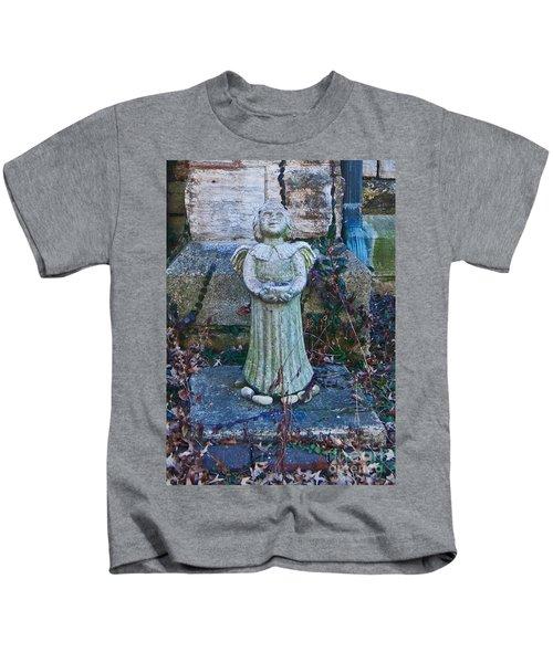 Angel Keokuk Church Kids T-Shirt