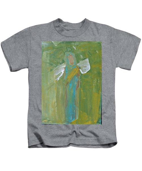 Angel Praise And Worship Kids T-Shirt