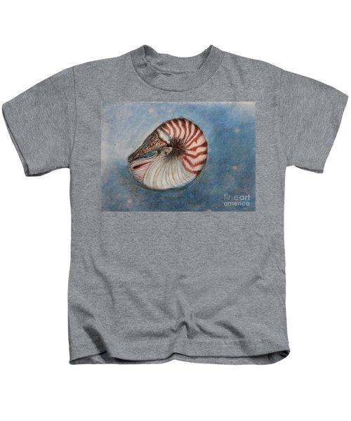 Angel's Seashell  Kids T-Shirt