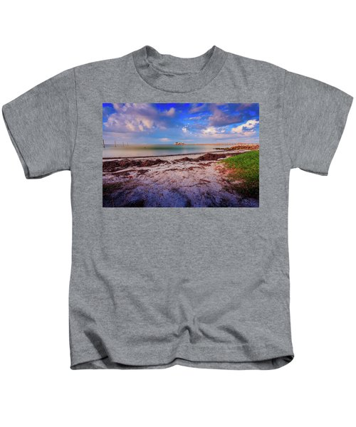 Anna Maria City Pier Kids T-Shirt