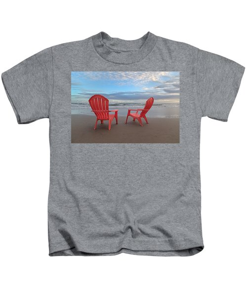 Another Busy Beach Day Kids T-Shirt