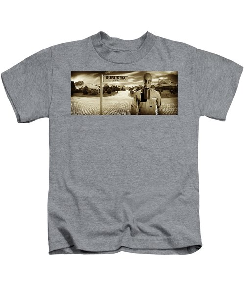 Another Day In Suburbia Kids T-Shirt