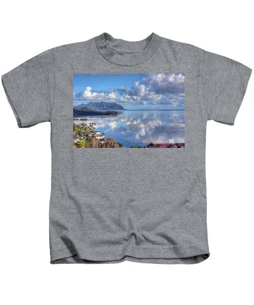 Another Kaneohe Morning Kids T-Shirt