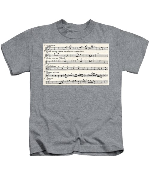 Antonio Vivaldi  The Four Seasons Kids T-Shirt