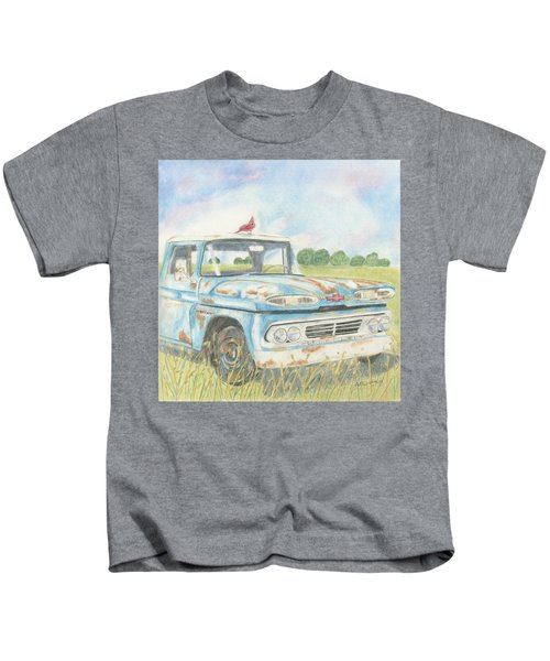 Apache Out To Pasture Kids T-Shirt