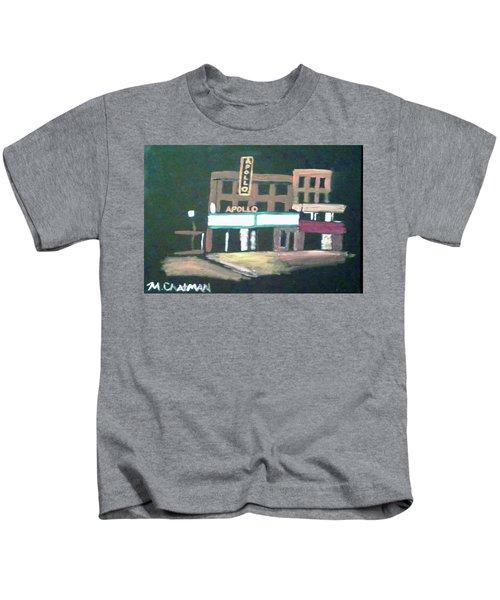 Apollo Theater New York City Kids T-Shirt