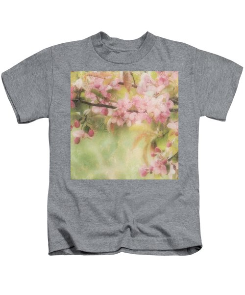 Apple Blossom Frost Kids T-Shirt