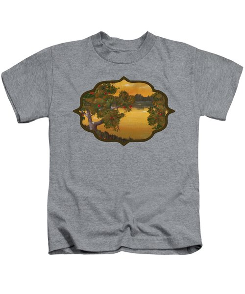Apple Sunset Kids T-Shirt