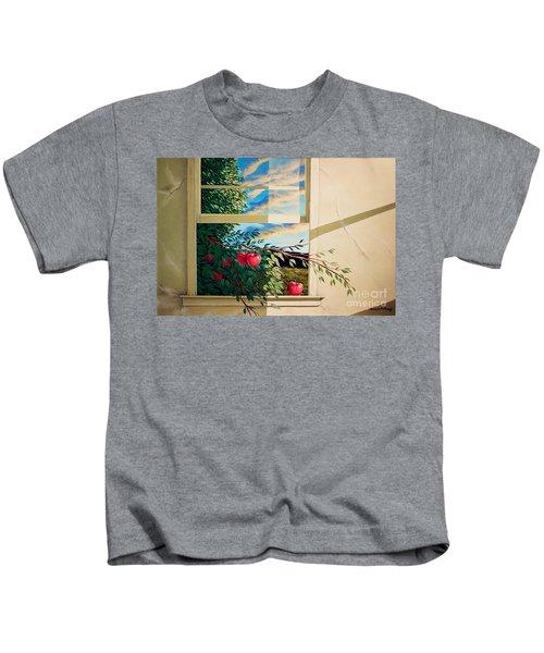Apple Tree Overflowing Kids T-Shirt
