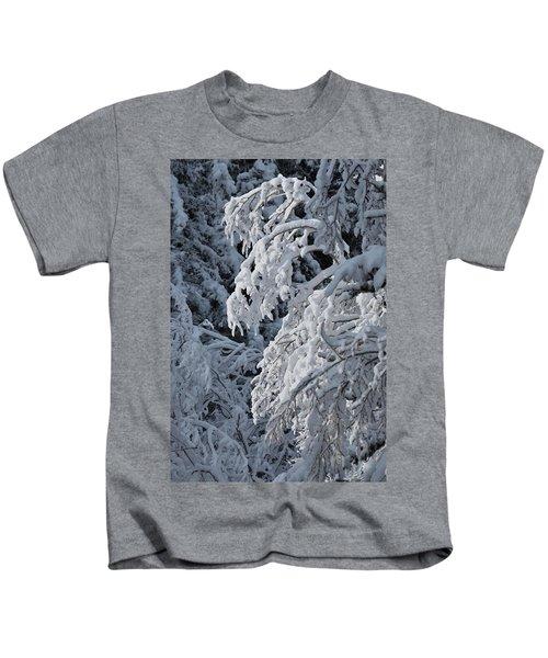 April Snow Kids T-Shirt