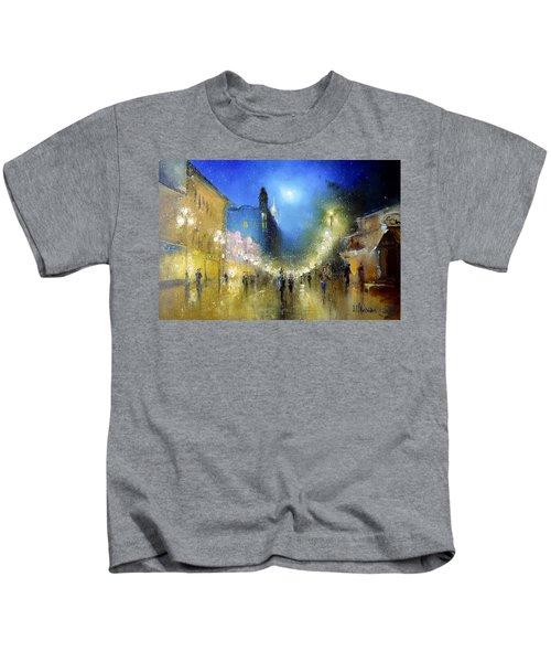 Arbat Night Lights Kids T-Shirt
