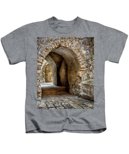 Arched Walkway Kids T-Shirt