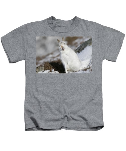 Are You Kidding? - Mountain Hare #14 Kids T-Shirt