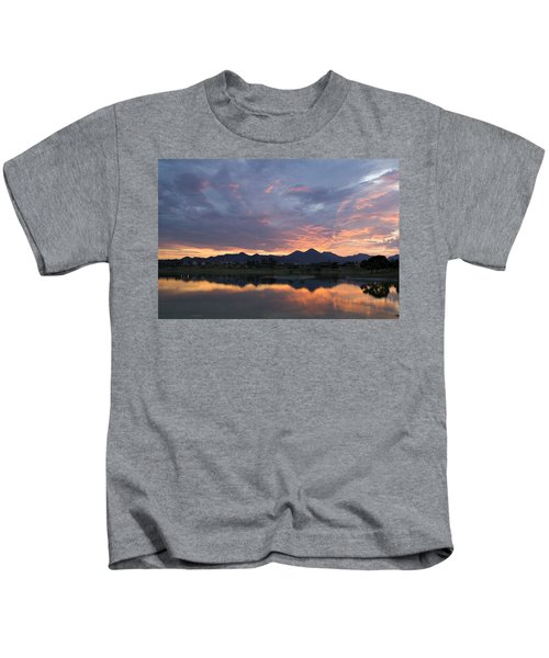Arizona Sunset Kids T-Shirt