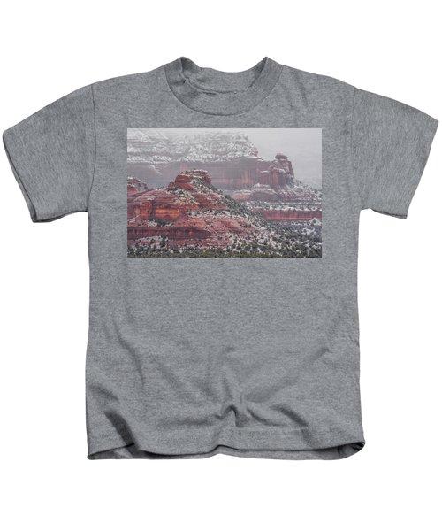 Arizona Winter Kids T-Shirt