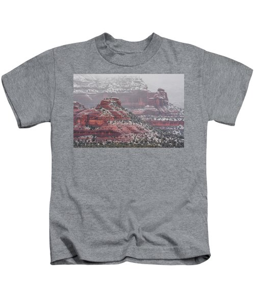 Arizona Winter Kids T-Shirt