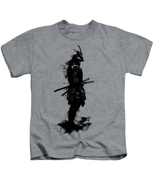 Armored Samurai Kids T-Shirt