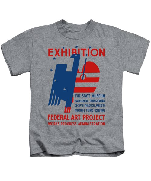 Art Exhibition The State Museum Harrisburg Pennsylvania Kids T-Shirt