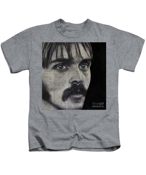 Art In The News 95-steve Prefontaine Kids T-Shirt