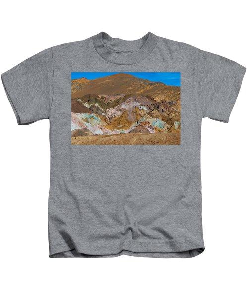 Artists Palette At Death Valley Kids T-Shirt