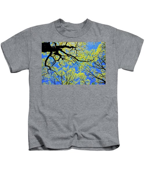 Artsy Tree Canopy Series, Early Spring - # 03 Kids T-Shirt