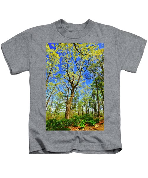 Artsy Tree Series, Early Spring - # 04 Kids T-Shirt