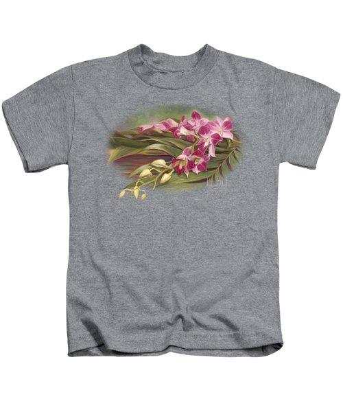 Dendrobium Orchids Kids T-Shirt