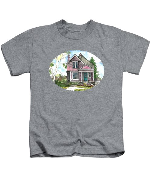 The Violet Lady In Spring Kids T-Shirt