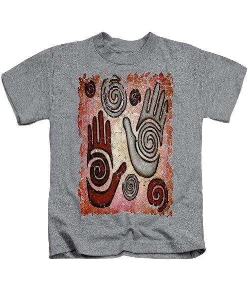 Healing Hands Fresco  Kids T-Shirt