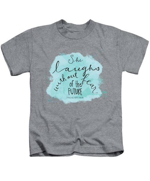 She Laughs Kids T-Shirt