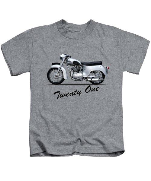 Triumph Twenty One 1957 Kids T-Shirt