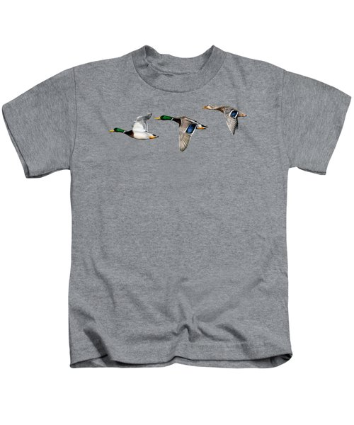 Flying Mallards Kids T-Shirt