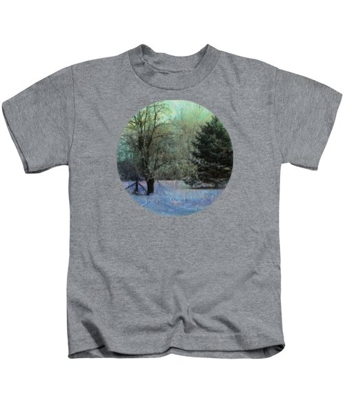 Into The Winter Morning Kids T-Shirt