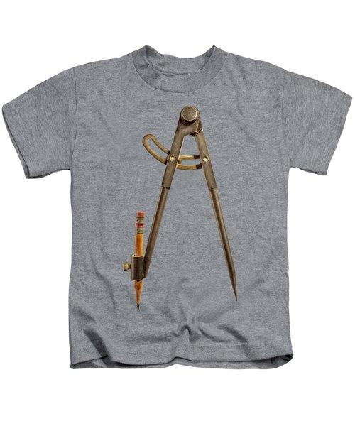 Iron Compass Backside Kids T-Shirt