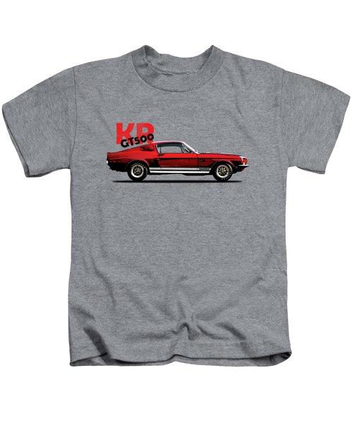 Shelby Mustang Gt500 Kr 1968 Kids T-Shirt by Mark Rogan