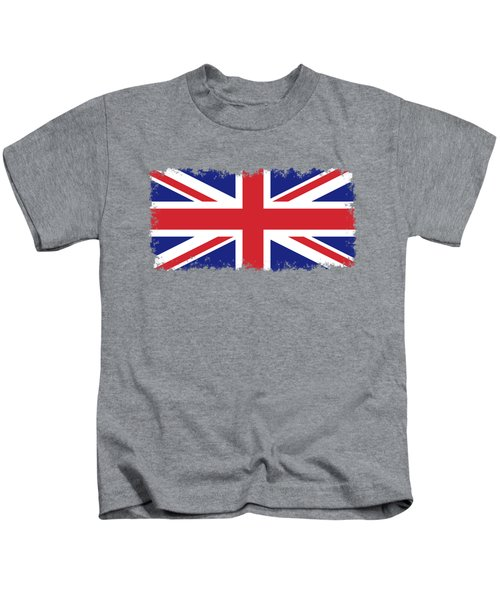 Union Jack Ensign Flag 1x2 Scale Kids T-Shirt by Bruce Stanfield