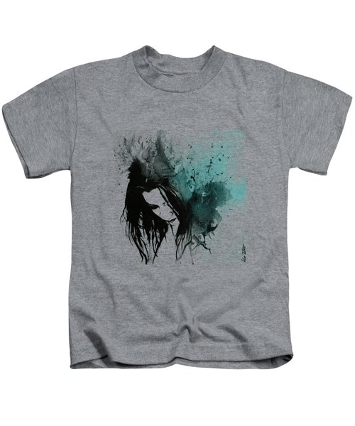 This Confession Means Nothing - Turquoise Kids T-Shirt