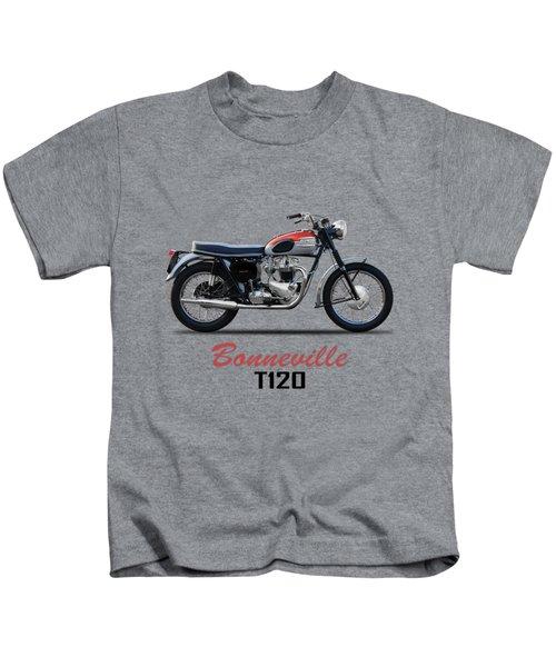 Bonneville T120 1962 Kids T-Shirt